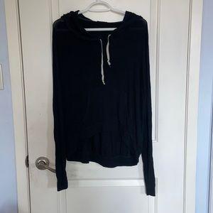 Brandy Melville Classic Hooded Long Sleeve